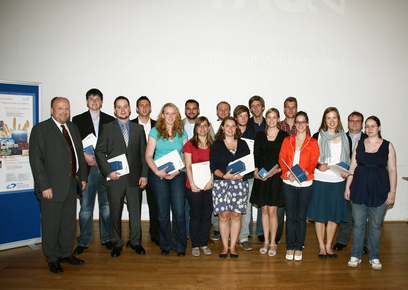 At the Geo Day 2012, the RWTH Division of Earth Sciences and Geography Bids Farewell to its Graduates